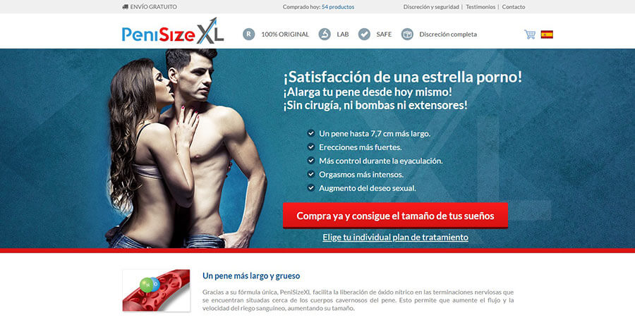 PeniSize XL Official Website