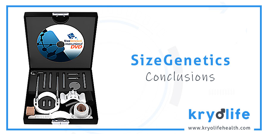 SizeGenetics review: conclusions