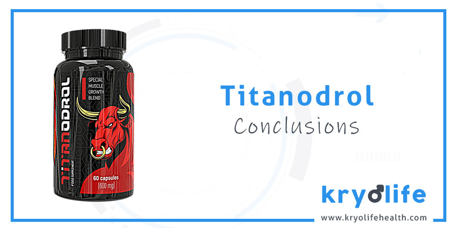 Titanodrol review: conclusions