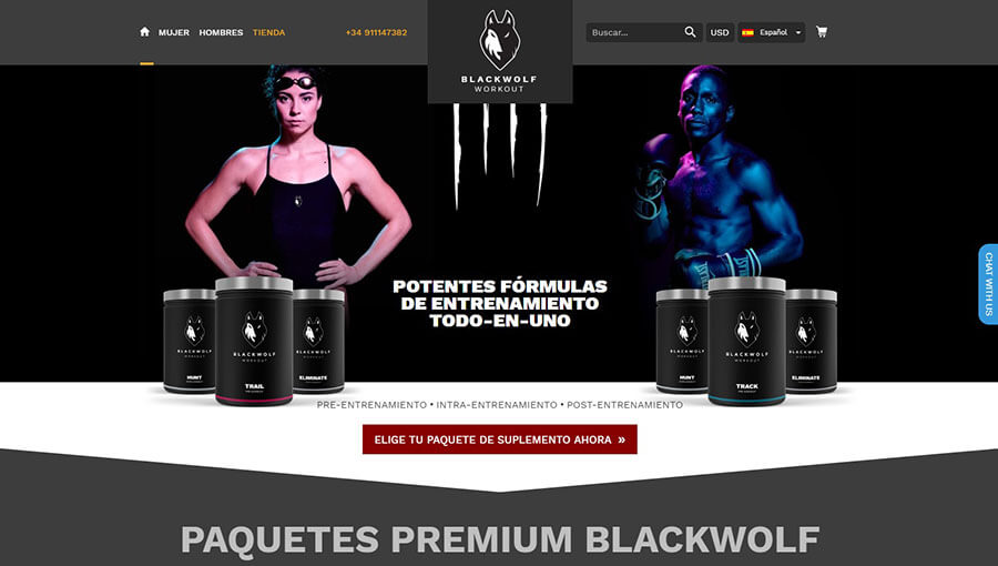 Blackwolf Track Official Website