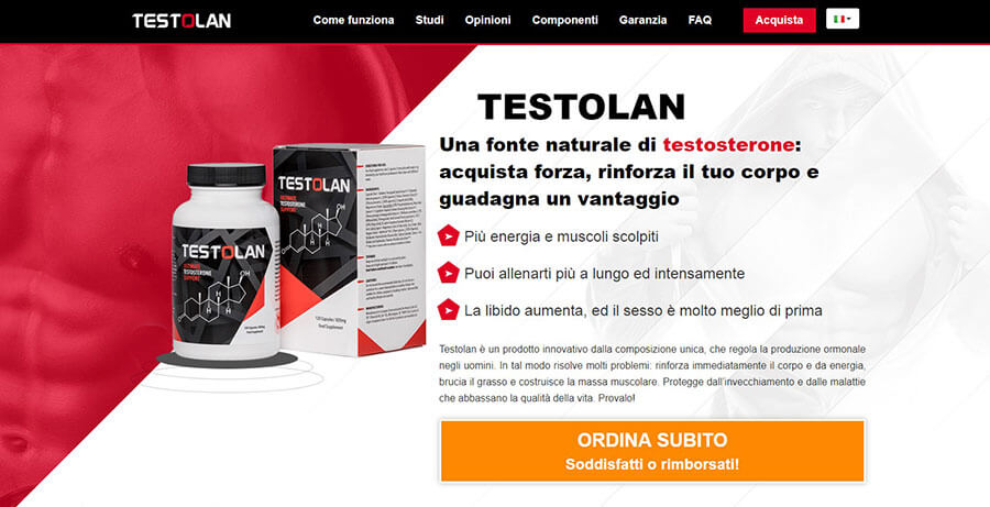 Testolan Official Website