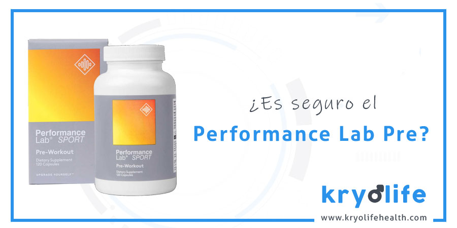 Es seguro el Pre-Workout de Performance Lab Sport