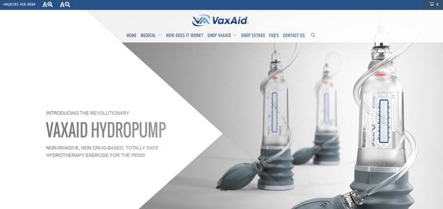 vaxaid official website