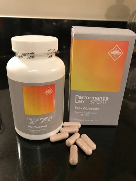 performance lab pre workout pills